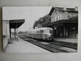 PHOTO J. Bazin - Train - Saint Maur - Créteil - 06/1967 - Trains