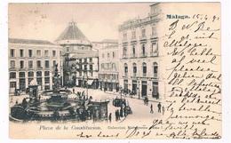 ES-2384   MALAGA : Plaza De La Constitucion - Málaga