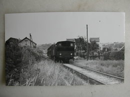 PHOTO J. Bazin - Train - Entre La Pointe Raquet Et Soisy - 06/1954 - Trains