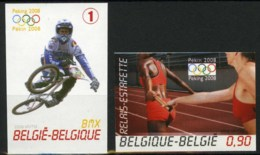 [A3076] België 3797/98 - Sport - Olympische Spelen In Peking - Jeux Olympiques - BMX - Ongetand - Cote: € 30,00 - Belgique