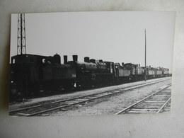 PHOTO - Locomotives - Bobigny - 1955 - Trains