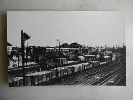 PHOTO - Trains - Bobigny - 1955 - Trains