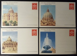 VATICANO 1953 CARTOLINE POSTALI - Interi Postali