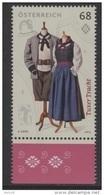 "Österreich 2015:  ""Tuxer Tracht""   Postfrisch (siehe Foto/Scan) - 1945-.... 2ème République"