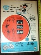 PUB PUBLICITE NSU CYCLOMOTEUR QUICKLY TT SCOOTER PRIMA ETS HOLLEBECQ - Vieux Papiers