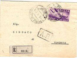 Piego Ospedaliero Raccomandato Da Ospedale San Daniele Per Il Sindaco Di Forgaria ( 226 ) - 6. 1946-.. Repubblica