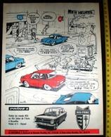 PUB PUBLICITE AUTO SALON NSU PRINZ 4 BRUXELLES HEYSEL ETS HOLLEBECQ - Vieux Papiers