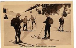 PONTARLIER - Sports D'hiver - Les Skieurs - Pontarlier