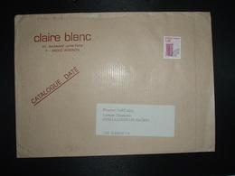 LETTRE TP PREO TAMBOURIN 3,08 + CLAIRE BLANC (84 AVIGNON) - Precancels