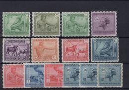 [HS1021] Belgisch Congo 118/31 - MNH - Belgian Congo