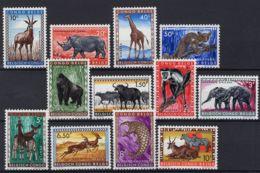 [HS1062] Belgisch Congo 350/61 - MNH - 1947-60: Mint/hinged