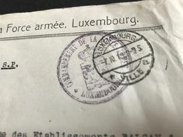 NEW -  Luxemburg Luxembourg Commando Armée Soldats 1919  Ww1 1914 1918 Gendarmerie 1. Weltkrieg - Luxembourg - Ville