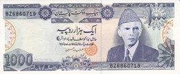 BILLETE DE PAKISTAN DE 1000 RUPEES DEL AÑO 1988 (BANKNOTE) - Pakistan