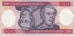 BILLETE DE BRASIL DE 100 CRUZEIROS DEL AÑO 1984 (BANKNOTE) - Brésil