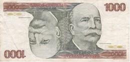 BILLETE DE BRASIL DE 1000 CRUZEIROS DEL AÑO 1979 (BANKNOTE) - Brésil