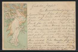 Ansichtskarte Alphonse Mucha Künster Jugendstil Art Nouveau Selt. Serie Von 6 - Illustrators & Photographers