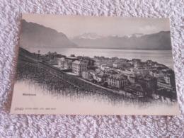 Cpa SWITZERLAND - SUISSE - SCHWEIZ  Montreux - Autres