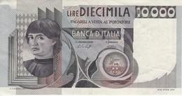 BILLETE DE ITALIA DE 10000 LIRAS DEL AÑO 1976 DE CIONINI  (BANKNOTE) - 10000 Lire