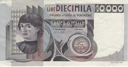 BILLETE DE ITALIA DE 10000 LIRAS DEL AÑO 1976 DE CIONINI  (BANKNOTE) - [ 2] 1946-… : Repubblica