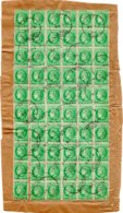 Bloc De 60 Valeurs Type CERES 2F Vert Jaune - Sheetlets