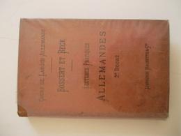 COURS DE LANGUE ALLEMANDE / BOSSERT & BECK - Schulbücher