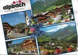 Autriche. CPM. Tyrol. Alpbach. Schönstes Blumendorf Europas (4 Vues) - Autriche