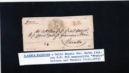 CG28 - Lett. Da S. Maria Magg. X Varallo 2/11/1853 - 1. ...-1850 Prefilatelia