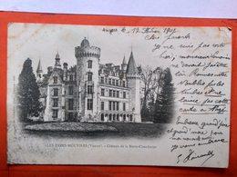 CPA (86) Les Trois Moutiers.Le Château De La Motte Chandeniers. *Signature Emile Poirault. (O.197) - Les Trois Moutiers