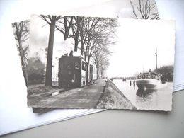 Nederland Holland Pays Bas Domburg Met Tram En Boot Voor 1940 - Domburg