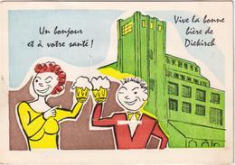 Un Bonjour Et à Votre Santé - Vive La Bonne Bière De Diekirch - & System Card, Beer - Diekirch