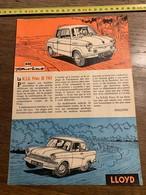PUB PUBLICITE NSU PRINZ 30 LLOYD - Vieux Papiers