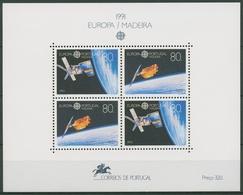 Portugal - Madeira 1991 Europa CEPT Europ.Raumfahrt Block 12 Postfrisch (C90990) - Madeira