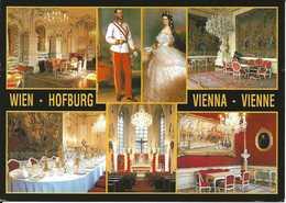 Autriche. CPM. Vienne. Château De Schönbrunn, Franz Joseph I. Kaiserin Elisabeth (7 Vues) - Château De Schönbrunn