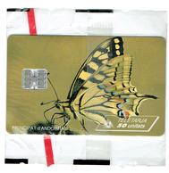 TELECARTE ANDORRE NEUVE Nº 25 Papillon Neuve - Andorra