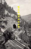 Chemin De Fer Yverdon  Sainte Croix  Tunnel De L'Onglettaz - VD Vaud