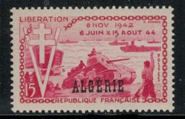 Algérie // 1950-1962  // 1954 //  10ème Anniversaire De La Libération Neufs ** MNH (sans Charnières) No.312 Y&T - Algérie (1924-1962)
