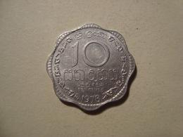 MONNAIE SRI LANKA 10 CENTS 1978 - Sri Lanka