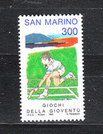 San Marino - 1993. Tennis  Scuole Giovanili. Tennis Youth Schools. MNH - Tennis