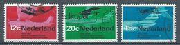 Pays-Bas YT N°874/876 Etapes De L'aviation Oblitéré ° - 1949-1980 (Juliana)