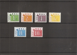 Union Sud-africaine ( Taxes 65/70 XXX -MNH) - Postage Due
