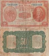 Netherlands Indies / 50 Cents / 1943 / P-110(a) / VF - Indonésie