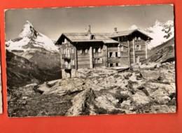 FPB-27  Touristenhaus Fluhalp Ob Zermatt. Matternorn. Circulé En 1941, Avec Timbre De Surtaxe De 20 Ct. - VS Valais