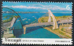 Taïwan 2020 - Pont De Dapeng Bay - Oblitéré - Oblitérés
