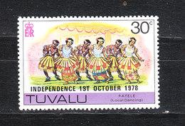 Tuvalu  - 1978. Folklore. Danza Indigena..Indigenous Dance. MNH - Dance