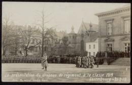 NEW - Ww1 - Drapeau Troupes Françaises Knuedler Luxemburg Luxembourg  WIROL Soldats 1914 1915 1916 1917 1918  1919 - Luxembourg - Ville