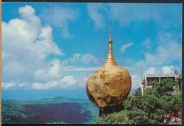 °°° 20736 - MYANMAR BURMA - KYAIKTIYO PAGODA °°° - Myanmar (Burma)