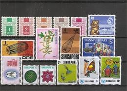 Singapour ( Lot De Timbres Divers XXX -MNh -  à Voir) - Singapore (1959-...)