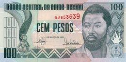GUINEA-BISSAU 100 PESOS 1990 P-11  UNC - Guinea-Bissau