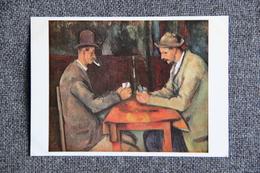Art, Peinture - CEZANNE Paul : Joueurs De Cartes ( PARIS, Musée Du Louvre ). - Pittura & Quadri