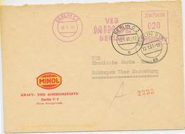 DDR ZKD AFS VEB Minol Berlin 1961 Kraft Und Schmierstoffe - [6] République Démocratique